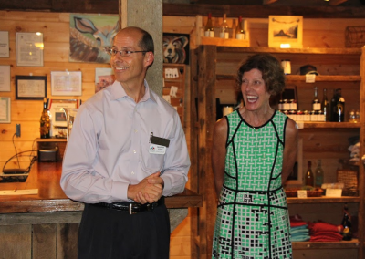 chamber member & emmie laughing